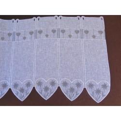 brise bise villaroger fond blanc motif gris motif edelweise brodé