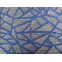 tissus au  décimétre cristal bleu 280 DE LARGE